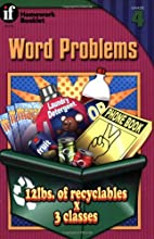 Word Problems Homework Booklet, Grade 4…