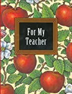 For My Teacher/Book and 24K Gold-Plated…