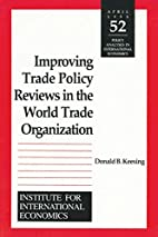 Improving Trade Policy Reviews in the World…