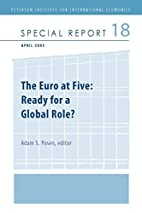 The Euro at Five: Ready for a Global Role…