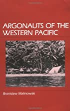 Argonauts of the Western Pacific by&hellip;