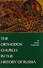 The Orthodox Church in the History of Russia…