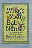 Lansky, Bruce: What's Your Baby's Name