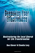 Deepening Your Effectiveness: Restructuring…
