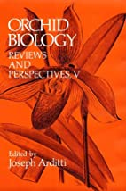 Orchid Biology: Reviews and Perspectives,…