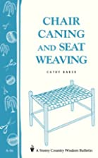 Chair Caning and Seat Weaving by Cathy Baker