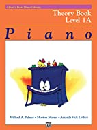 Alfred's Basic Piano Library: Theory…