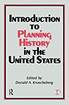 Introduction to Planning History in the…