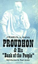 Proudhon & His 'Bank Of The…