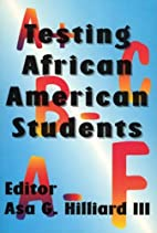 Testing African American Students Special…