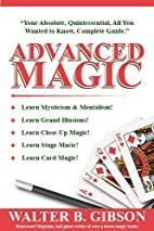 Fell's Advanced Magic by Walter Brown Gibson