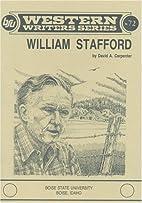 William Stafford, (#72) by David A.…