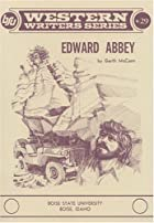 Edward Abbey (Boise State University Western…