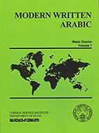 Modern Written Arabic Vol. 1 (18 cassettes &…