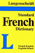Langenscheidt's Standard French Dictionary:…