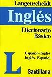 Langenscheidt: Diccionario básico inglés Langenscheidt: español/inglés  inglés/español (Spanish Edition)