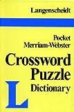 Langenscheidt: Langenscheidt's Pocket Crossword Puzzle Dictionary