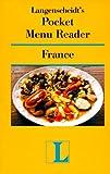 Langenscheidt: Langenscheidt's Pocket Menu Reader France