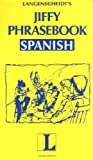 Langenscheidt Staff: Jiffy Phrasebook Spanish