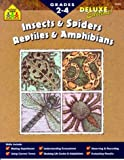 Merlino: Insects & Spiders Reptiles & Amphibians: Grades 2-4