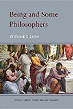 Being and Some Philosophers by Étienne…