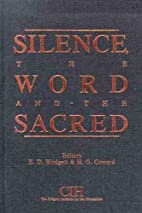 Silence, the word and the sacred : essays by…