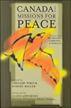 Canada and Missions for Peace :- Lessons…