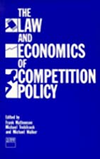 Law and Economics of Competition Policy by…