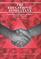 The Educational Consultant: Helping…