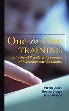 One-To-One Training: Instructional…