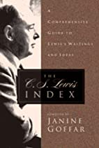 The C.S. Lewis Index: A Comprehensive Guide…