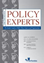 Policy Experts: The Insider Guide to Public…