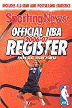 Official NBA Register 2006-07 by Sporting…