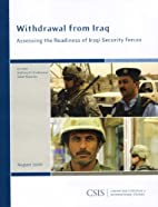 Withdrawal from Iraq: Assessing the…