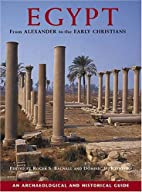 Egypt from Alexander to the Early…
