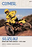 Sales, David: Suzuki Rm50-400 Twin-Shock, 1975 1981: Service, Repair, Performance