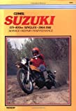 Sales, David: Suzuki 125-400Cc Singles, 1964-1981: Service, Repair, Performance