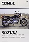 Jorgensen, Eric: Suzuki Gs850-1100 Shaft Drive 1979-1984: Service, Repair and Maintenance