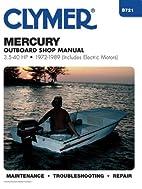 Mercury Outboard Shop Manual 3.5-40 Hp…