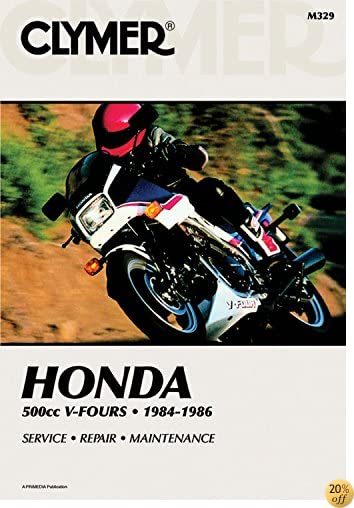 TClymer Honda 500cc V-Fours - 1984-1985: Service, Repair, Maintenance (Clymer Motorcycle)