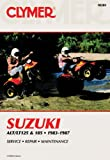 Sales, David: Suzuki Alt/Lt125 and 185 1983 1987: Service Repair Performance