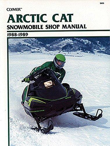 clymer-arctic-cat-snowmobile-shop-manual-1988-1989-service-repair-maintenance-clymer-snowmobile-repair-series