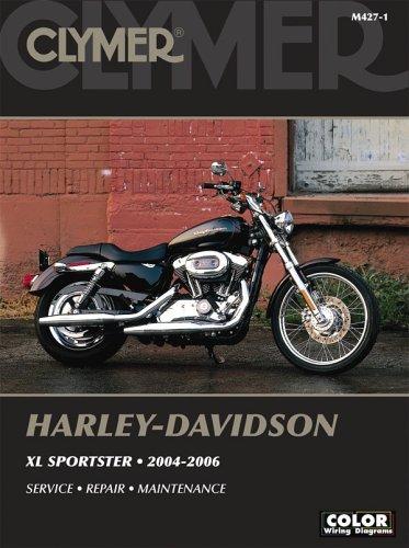 harley-davidson-xl-sportster-2004-2006-clymer-motorcycle-repair