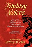 Elliot, Jeffrey M.: Fantasy Voices: Interviews with American Fantasy Writers (Milford Series)