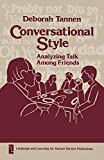 Tannen, Deborah: Conversational Style