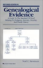 Genealogical Evidence: A Guide to the…