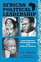 African Political Leadership: Jomo Kenyatta,…
