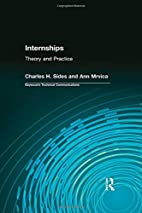 Internships: Theory And Practice (Baywood's…