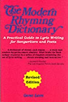 The Modern Rhyming Dictionary Edition by…
