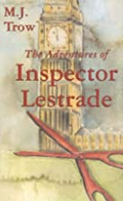 The Adventures of Inspector Lestrade by M.…